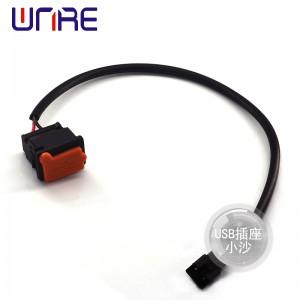 USB插座小沙