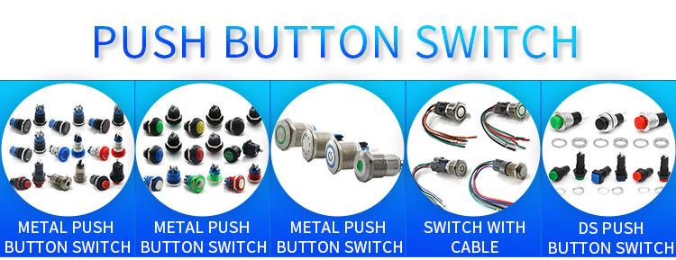 metal push button switch
